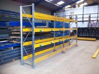 DOUBLE GALVANISED HEAVY DUTY COMMERCIAL WAREHOUSE PALLET RACKING UNIT BAY