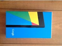 Google Nexus 7 Mint Bargain Tablet as new.