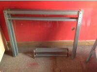 Free Glass top dining table