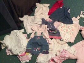 BARGAIN Baby girl bundle 3-6/6-9 months 80 items