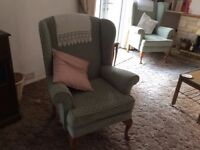 Armchairs, old but in good condition and comfortable