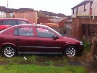 Vauxhall Astra 1.6 NO M.O.T/ SWAP FOR SMALLER CAR