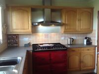 Kitchen units from Howdens