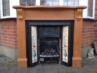 Victoria Style Cast Iron Fire Surround