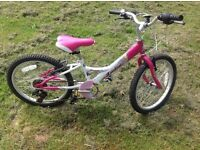 "Girls 20"" probike good condition"