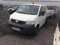 VW T5 drop side pick up 20007 57 plate one owner from new 12 months MOT mint condition 2.5 130 break
