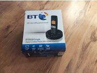 (NEW) BT3510 Single Digital cordless phone with answer machine.