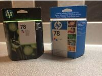 HP 78 Inkjet Print Cartirdges Tricolour UNOPENED
