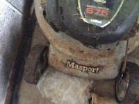 Masport 800st series 21 for spares or repairs