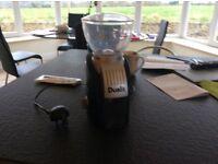 immaculate coffee bean grinder