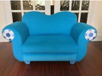 Kiddies Velour Sofa Suitable for 2. - 6 years my Grandchildren love it