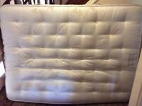 Vi spring mattress very heavy delivery can be arranged if local. King size.