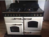 Leisure Rangemaster Classic 110, cream, dual fuel oven