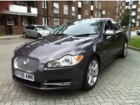 JAGUAR XF 3.0 V6 LUXURY 2010 REG FULL SERVICE HISTORY AA INSPECTION DONE HPI CLEAR P/X WELCOME