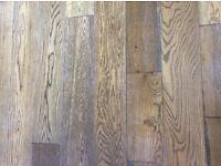 Solid Oak Tiger Eye Tounge & Groove Wood Floor 36msq