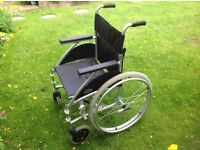 Nearly new Day's wheelchair