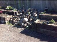 Giant/Large /Medium/Small Boulders & Rockery stones