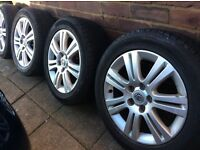 "Vauxhall Victra 17""alloys"