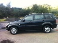 SSANGYONG REXTON RX270 SE7 2.7 DIESEL 7 SEATER