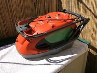 NEW SHAPE FLYMO GLIDE MASTER 360 EASI REEL HOVER LAWNMOWER / LAWN MOWER - ELECTRIC