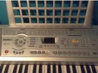 ACOUSTIC SOLUTIONS SILVER MID ELECTRONIC KEYBOARD