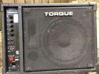 Torque 100 watt Active Powered Wedge Stage Monitors