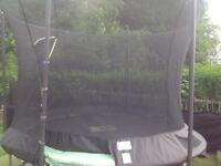 TP Toys Genius 10ft trampoline with igloo door