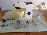 Kenwood Chef food mixer and accessories