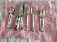 Angora silver plate cutlery