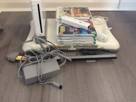 Nintendo Wii bundle, console, controller and various games