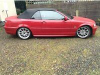 Bmw 330i M sport convertible auto £2400