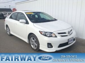 2012 Toyota Corolla 4-Door Sedan S 4A Sport PKG Moonroof