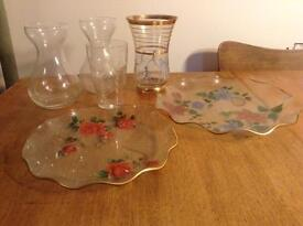 Assorted Glass and China Items