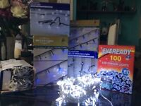 New Christmas lights for sale - selection available- indoor outdoor use -