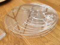 Cake stand 10 tier fairy cakes party, wedding cakes Perspex easy to build and stores flat