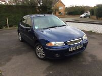 ROVER 216 IS AUTOMATIC . 42000MILES. 1999.GOOD CONDITION MOT UNIL 28.5.18, FSH. 2x OWNERS