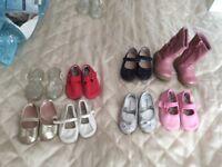 Baby girl shoes bundle