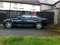 bmw 318ci (12month MOT,black,coupe,e46,leather,facelift)not 320d,330d,325d,330ci,325ci,330i,audi,a4