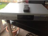 Philips dual tray cd recorder/player