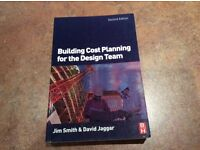 Building Cost Planning for the Design Team Textbook ISBN 0750680164 by Jim Smith & David Jaggar