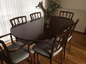 Strongbow Mahogany Dining Room Suite for sale