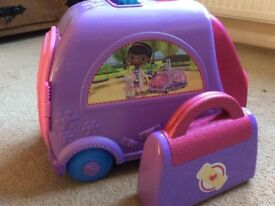 Doc McStuffins Mobile Clinic and Medical Kit