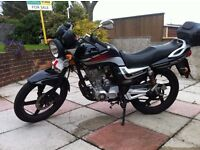 125cc Motorcycle (learner legal)