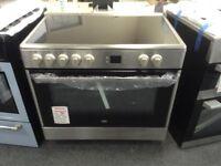 Beko 90cm single oven range cooker. £420 new/graded 12 month Gtee