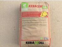 Keracem Eco bags of screed