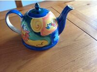 Delightful Large Whittards Teapot with elephant and lion design
