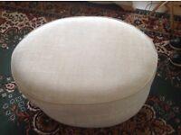 Oval Pouffe/footstool