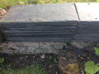 Large Roofing slates unused