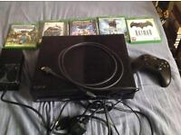 Xbox one with 6 games. ( Will sell without games for £160 )