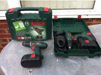 Bosch 18v Cordless Drills